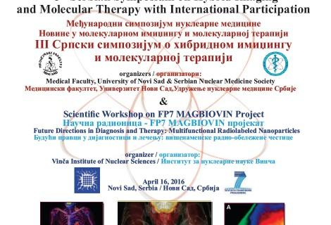 Međunarodni simpozijum Nuklearne medicine i III Srpski simpozijum o hibridnom imidžingu i molekularnoj terapiji