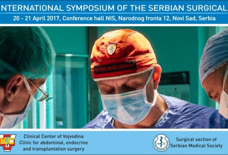 5th International Symposium of the Serbian Surgical Society, April 20-21, 2017