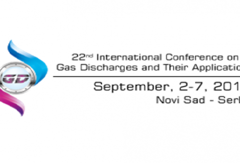 The International Conference on Gas Discharges and Their Applications, Septembar 2018