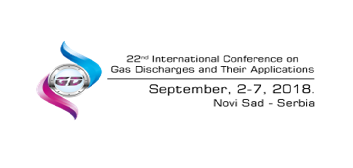 The International Conference on Gas Discharges and Their Applications, September 2018