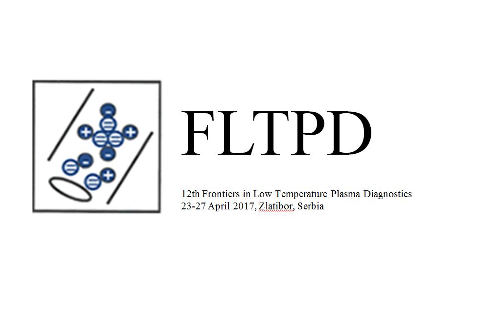 The 12th Frontiers in Low Temperature Plasma Diagnostics, APRIL 2017
