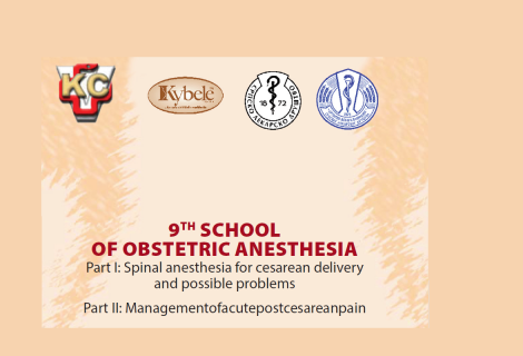 9TH SCHOOL OF OBSTETRIC ANESTHESIA – 24/25 May 2019.