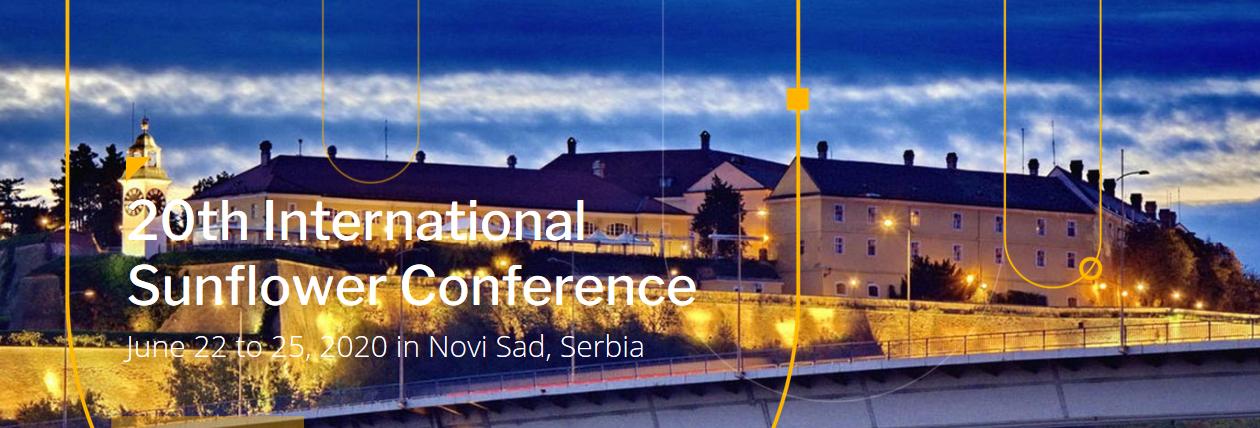 20th International Sunflower Conference, JUNE 2022