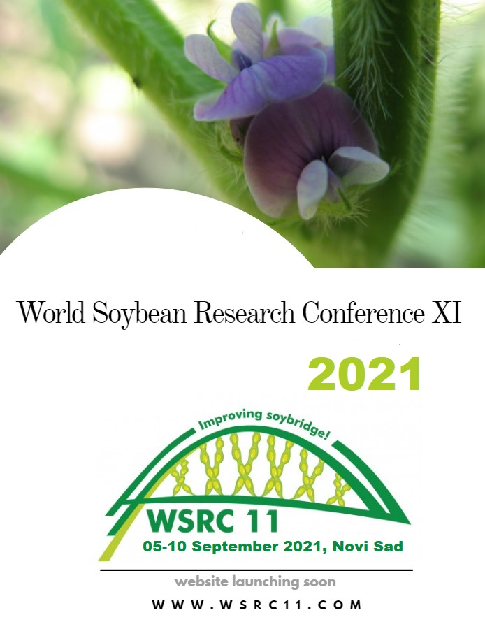 11thWorld Soybean Research Conference (WSRC11), SEPTEMBER 2022