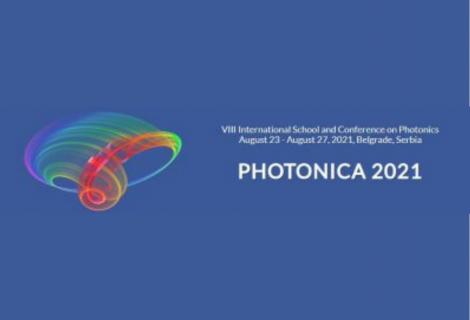 VIII International School and Conference on Photonics – PHOTONICA, AUGUST 2021