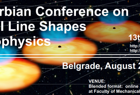 13th Serbian Conference on Spectral Line Shapes in Astrophysics, AUGUST 2021